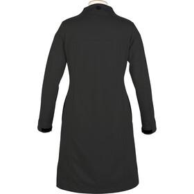 Alchemy Equipment Longline Softshell Coat Dame black
